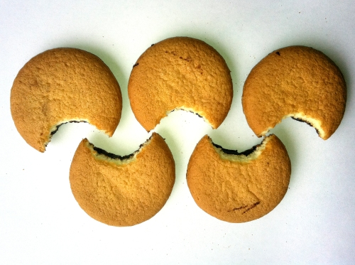 Olympic Logo a Day 14: more jaffa cakes