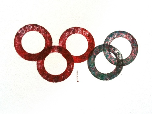 Olympic Logo a Day 030: inky