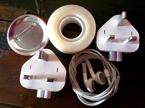 Olympic Logo a Day 041: plugs and tape