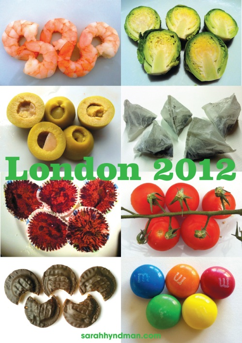 Alternative London 2012 posters by Sarah Hyndman of With Relish