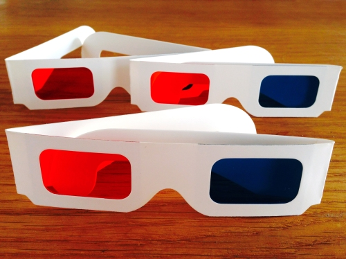 olad 3d glasses